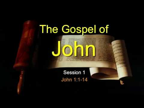 Chuck Missler   The Gospel of John   Session 1 (SLIDES CORRECTED)
