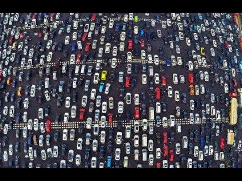 World longgest traffic jam in Dubai| 2018 world records.