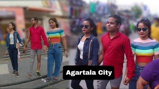Durga Puja Special Dress With Beautiful Girl's | Epic Public Reaction | Prank Zone