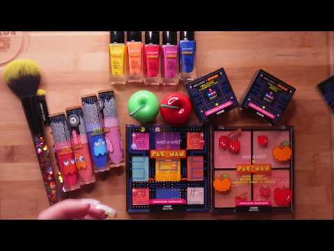 ASMR Swatching PacMan Makeup So You Can Finally Sleep thumbnail