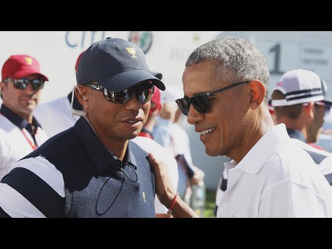 Obama and Trump Both Offer Tiger Woods Messages of Support