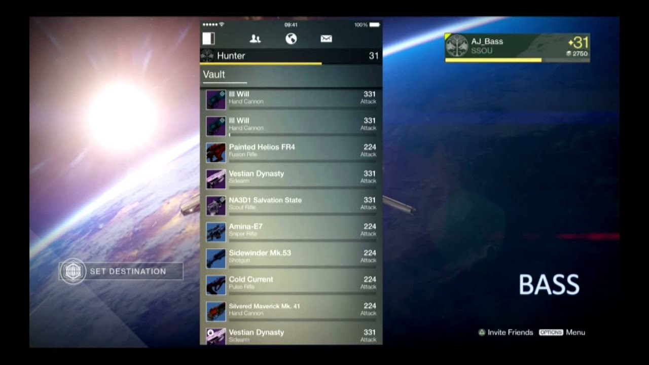 Destiny: How to transfer weapons, items between characters without going to  the Tower