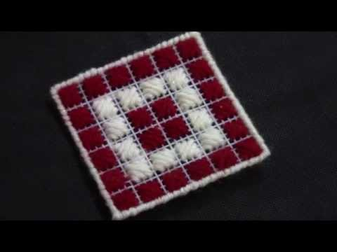 How To Make Plastic Canvas Coaster Tutorial Youtube