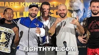 FULL MALIGNAGGI VS. LOBOV POST-FIGHT PRESS CONFERENCE; REACTIONS FROM BARE KNUCKLE FC 6 FIGHTERS