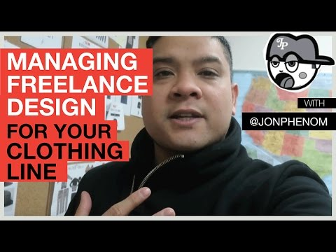 MANAGING FREELANCE DESIGN FOR YOUR CLOTHING LINE
