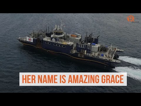 Philippine Red Cross launches M/V Amazing Grace