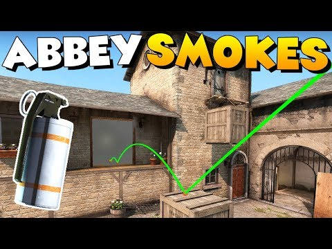 MUST KNOW ABBEY SMOKES! - New CS:GO MatchMaking Map Nade Tutorial