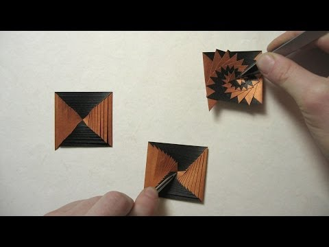 how to make a paper curlicue