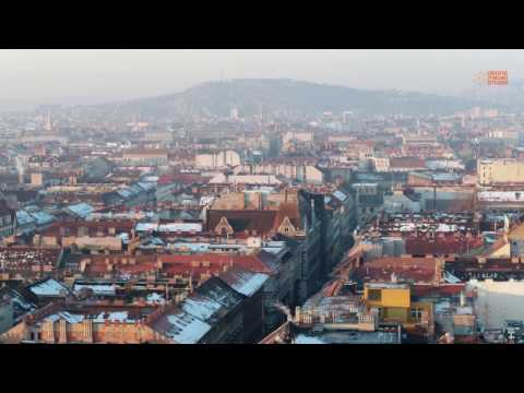 Ébredő város | Awakening city - Winter Budapest strolling by the Drone Media Studio