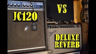 Roland Jazz Chorus JC120 VS Fender '65 Deluxe Reverb