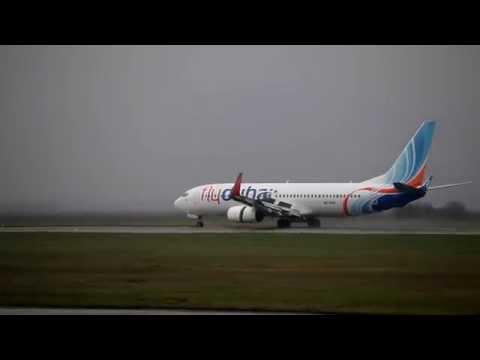 Bratislava Airport - landings & takeoffs #3 (HD)