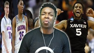 XAVIER DID WHAT!?!?!? | INCREDIBLE LAST MINUTE COMEBACK! XAVIER VS ARIZONA REACTION