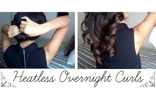 How to: Heatless Overnight Curls Thumbnail