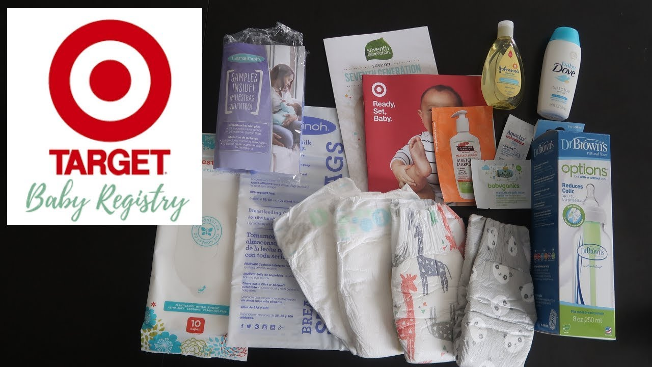 FREE TARGET BABY REGISTRY BAG & COUPONS UNBOXING 2018 ...
