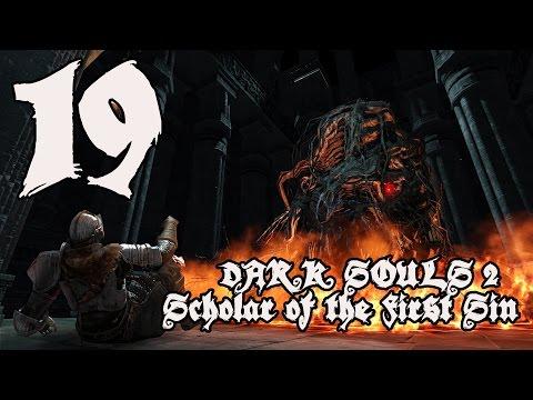 Dark Souls 2 Scholar of the First Sin - Walkthrough Part 19: Smelter Demon