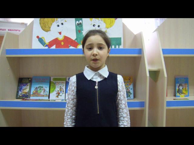 Изображение предпросмотра прочтения – ЭсмираМахмутова читает произведение «Крестьянские дети» Н.А.Некрасова