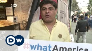 Israelis and Palestinians talk US politics | DW News