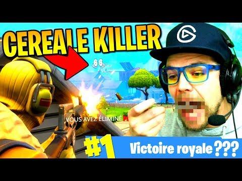 Le CÉRÉALE KILLER sur Fortnite: Battle Royale !!