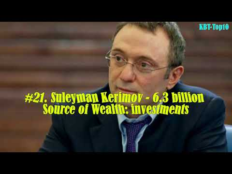 Top 50 Richest People in Russia / Top 50 Russian People by net worth
