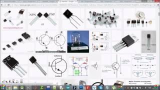 Devre Elemanları ve 4 Motor için Proteus Çizimi