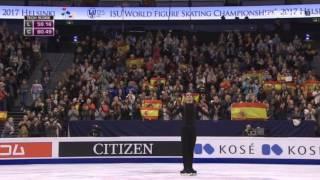 Хавьер Фернандес. Короткая программа чемпионат мира 2017. 109,05