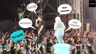 Gullyboy Music Launch | Divine | | Dub Sharma | | Azadi | | Part 3 |
