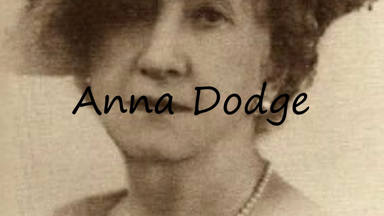 Watch Anna Dodge video