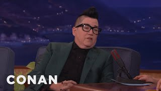 """Lea Delaria: """"all I Can Eat Is Pussy""""  - Conan On Tbs"""