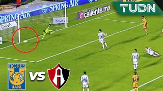 ¡Increíble, era el gol del 'Diente' López! | Tigres 1 - 0 Atlas | Liga Mx - CL 2020 J-3 | TUDN