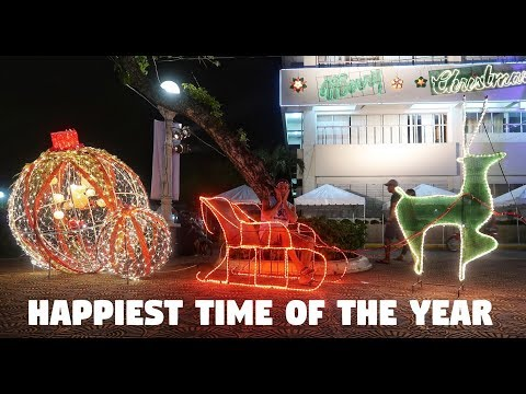 HAPPIEST TIME IN THE PHILIPPINES? - BecomingFilipino Christmas In Roxas City