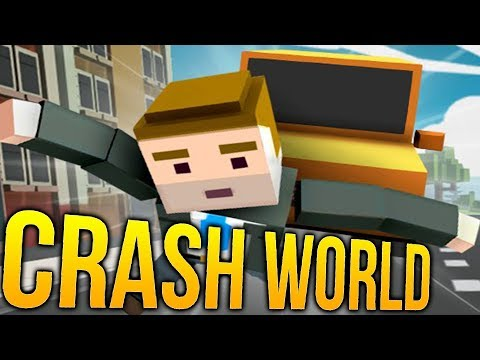 Crash World - Pizza Delivery VS Hot Dog Stands - The Great Battle - Crash World Gameplay Highlights
