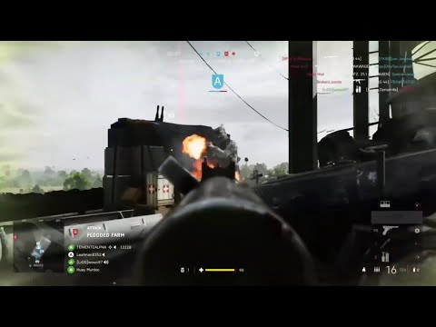 Defending the Netherlands from Dirty Huns | Battlefield 5 |