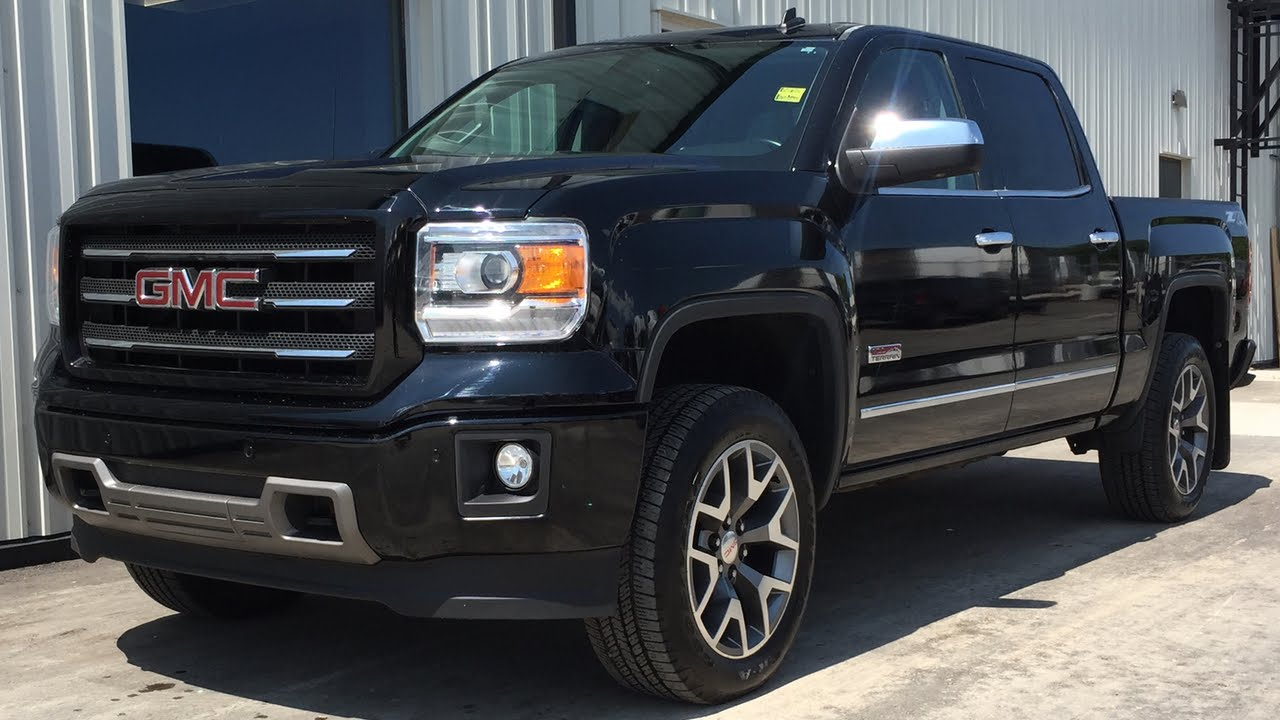 small resolution of 2014 gmc sierra 1500 slt z71 4wd crew cab all terrain package navigation 20in wheels youtube