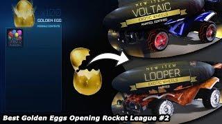 Best Golden Eggs Opening Rocket League #2