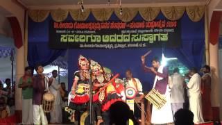 Yakshagana--Divakar Rai & Chandrashekhara Dharmasthala in their Talent Exhibition