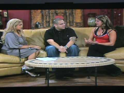 Diana Chaloux training Priest Holmes  - Interview on Great Day SA Nov 08