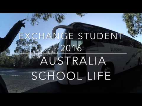 Australia Exchange Trip - School Life 2016