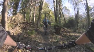 Mountain Biking in Castlewellan, Moorish Return Red Trail GoPro HD MTB