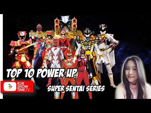 10 POWER UP SUPER SENTAI TER-GG || with Selina