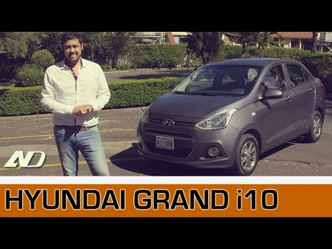 Hyundai Grand i10 Sedan Mejor que un Aveo
