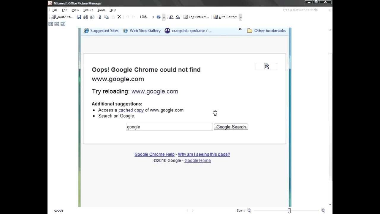 how to fix google chrome not loading