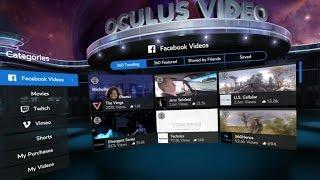 Facebook + Dynamic Streaming on Gear VR - Oculus