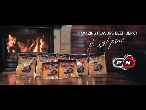 BEEF JERKY - Delicious high protein beef snack | PURE NUTRITION