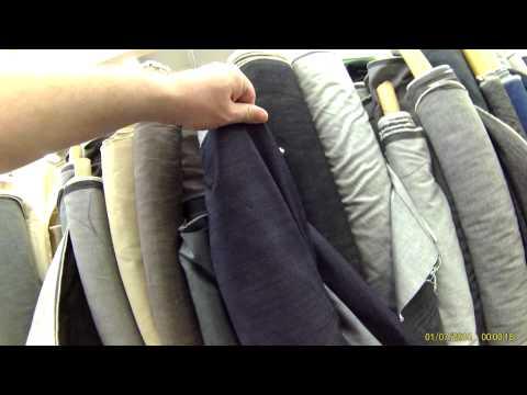 Bangkok China Town visite de grossiste textile