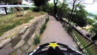 Bratislava City World Downhill Street Race Andrew Neethling