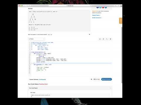 LeetCode 437 Path Sum III - YouTube