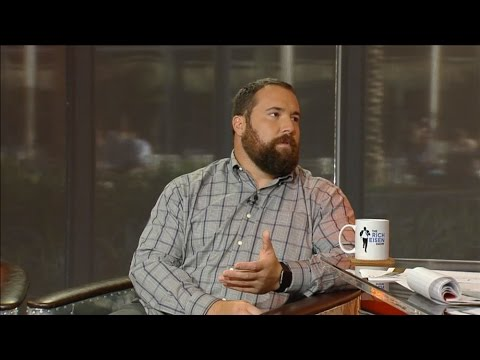 Panthers Center Ryan Kalil Talks QB Cam Newton in Studio - 10/8/15