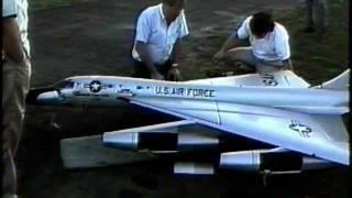 RC Convair B-58 Hustler Bomber Last Flight
