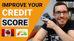 IMPROVE YOUR CREDIT SCORE IN CANADA | EASY STEPS TO BUILD CREDIT | Credit Card Guide Chapter 4