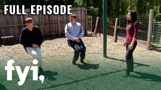 Tiny House Hunting: Tiny Living In Sonoma Wine Country  S2, E11  | Full Episode | Fyi